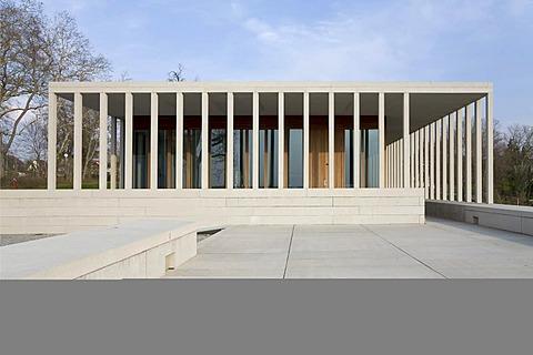 Museum of modern literature, Marbach Neckar, Baden-Wuerttemberg. Germany