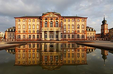 Corps de Logis, garden front, castle Bruchsal, , district Karlsruhe, Baden-Wuerttemberg, Germany