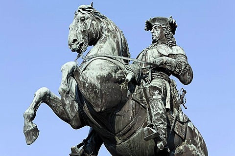 Prinz Eugen monument, New Hofburg, Heldenplatz, Vienna, Austria