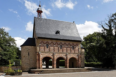 Monastery Lorsch, Carolingian Kings hall, Hesse, Germany