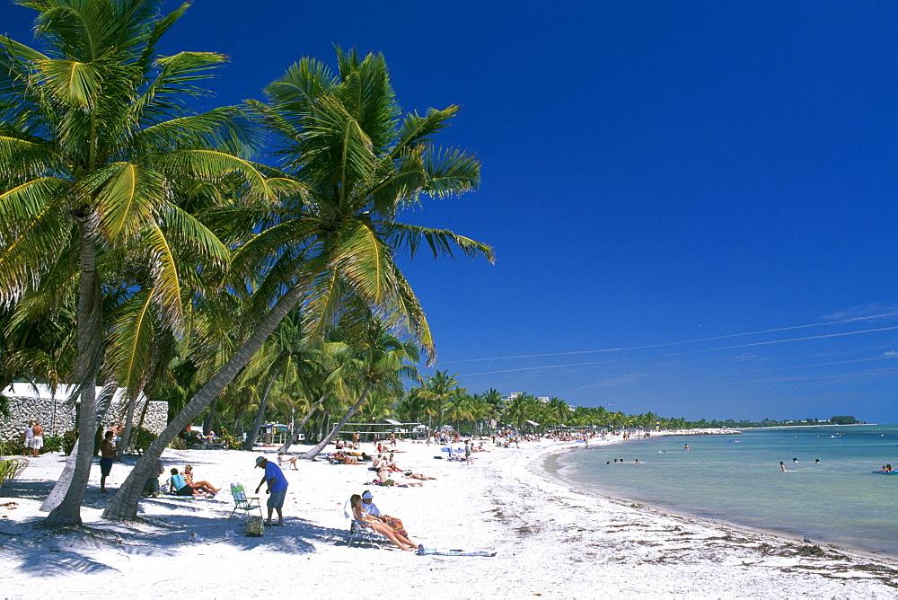 Smathers Beach, Key West, Florida Keys, Florida, USA