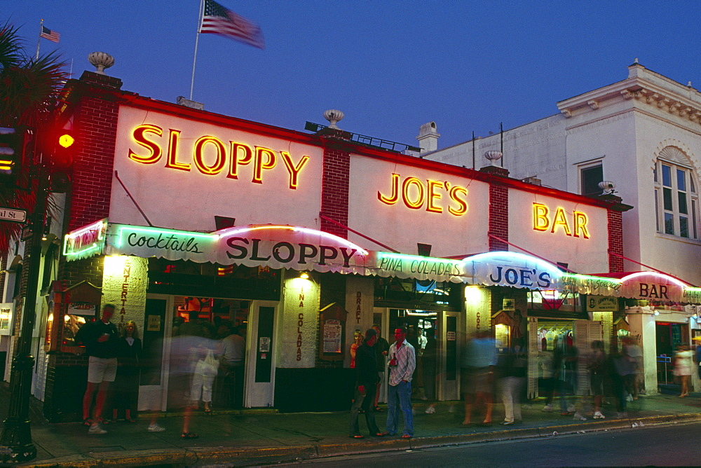 Sloppy Joe¥s Bar, Key West, Florida Keys, Florida, USA