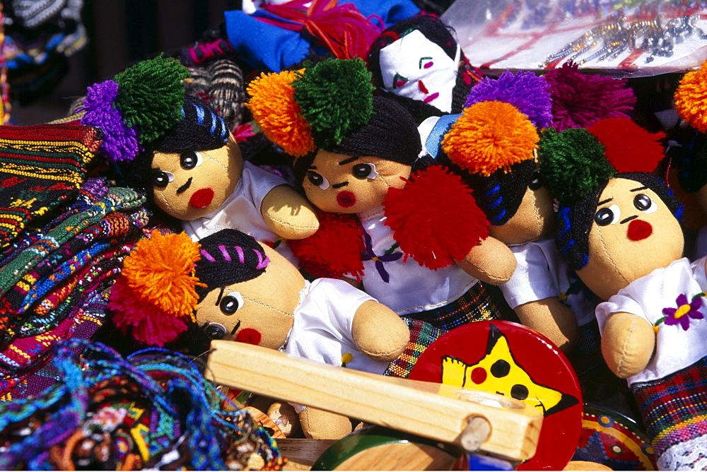 Souvenir dolls, Playa del Carmen, Riviera Maya, Mayan Riviera, Yucatan, Mexico