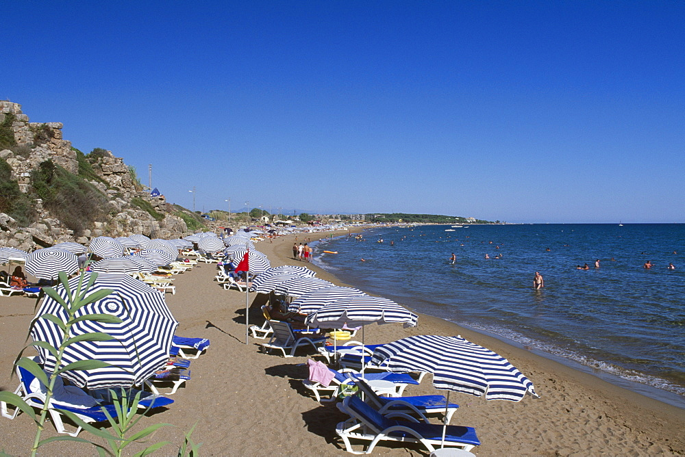 Side Beach, Turkish Riviera, Turkey