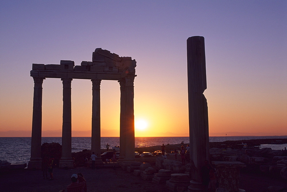 Temple of Apollo, Side, Turkish Riviera, Turkey