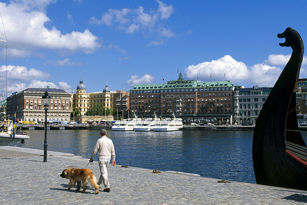 Grand Hotel, Strandvaegen, Stockholm, Sweden, Scandinavia