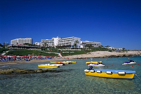 Sandy Bay, Agia Napa resort, Cyprus