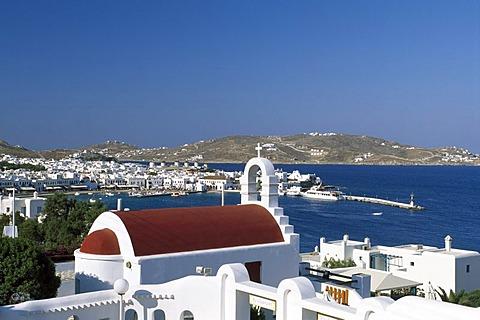 City of Mykonos, Mykonos, Cyclades, Greece, Europe