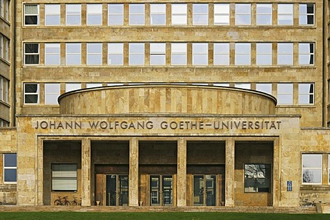 Johann Wolfgang Goethe University in Frankfurt, Hesse, Germany