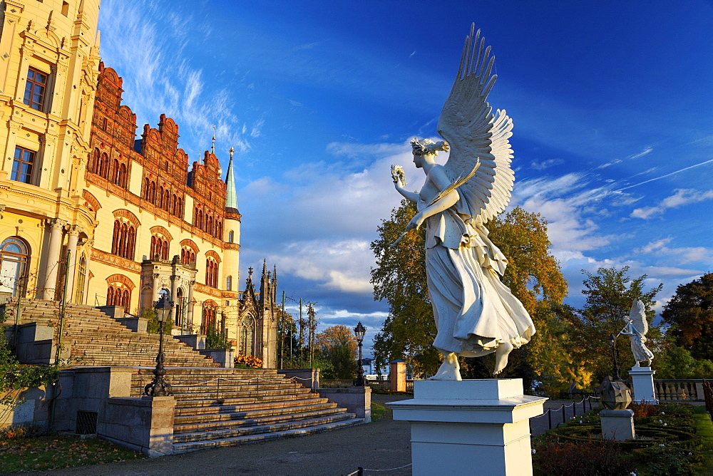 Viktorien (Victoria - goddess of victory) Castle Schwerin, Mecklenburg-Western Pomerania, Germany