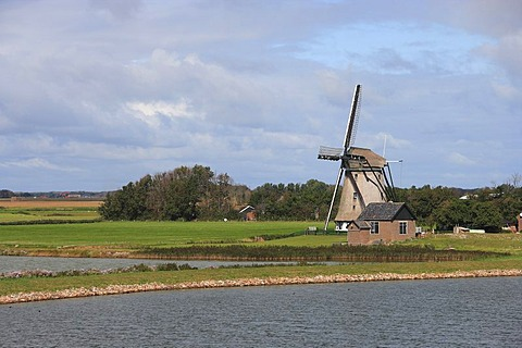 Wind mill, Texel, Netherlands