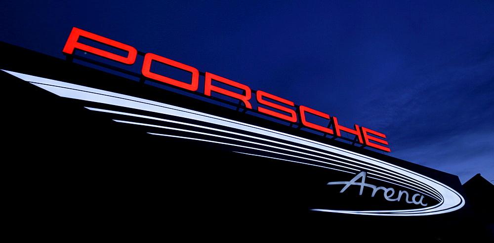 Porsche Arena, Stuttgart, Baden-Wuerttemberg, Germany