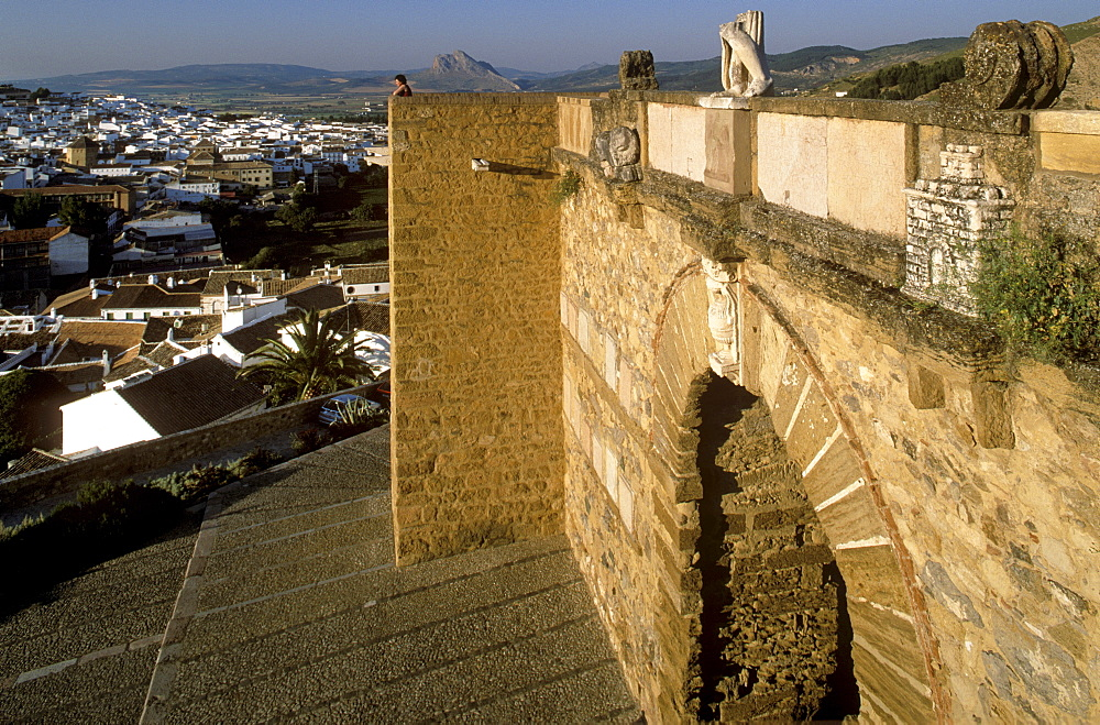 Arco de los Gigantes (Giants' Arch), Antequera, Malaga Province, Andalusia, Spain