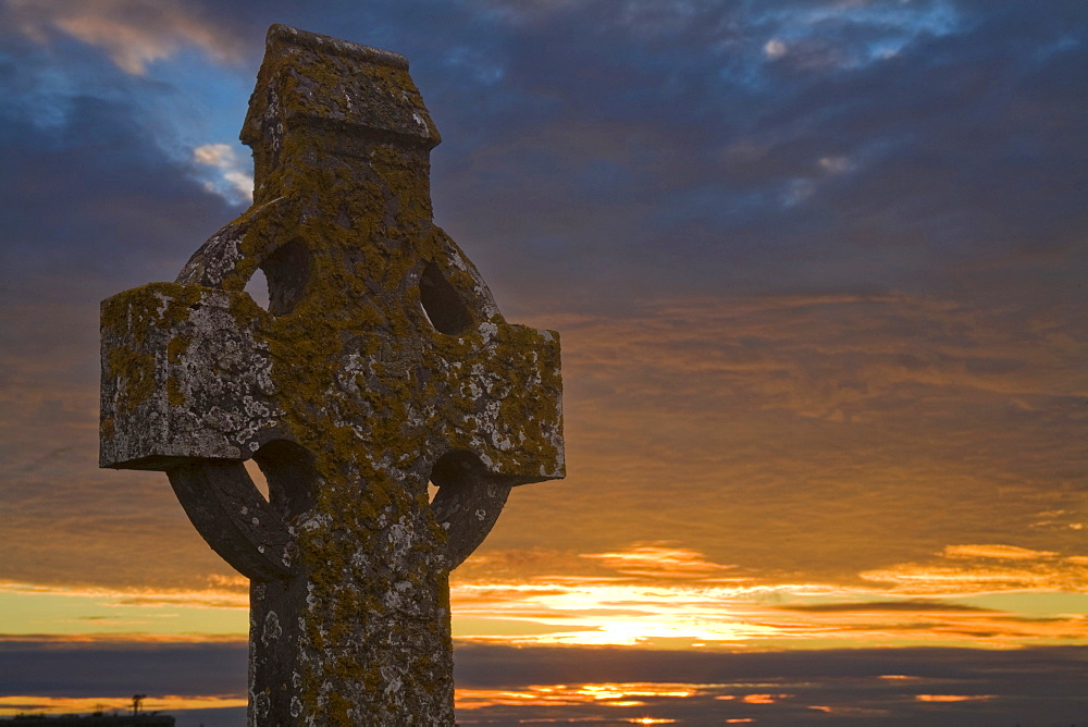 High Cross, Clonmacnoise, County Offaly, Ireland