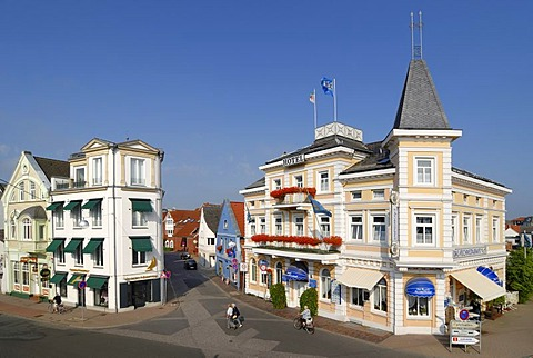 Cuxhaven - old part of town - Lower Saxony, Germany, Europe.
