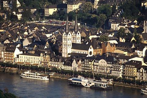 View of Boppard, Rhineland-Palatinate, Germany