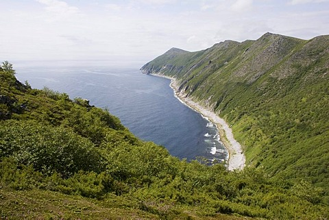 Bay Svetlaya, Sea of Okhotsk, Magadan area, Eastern Siberia, Russia