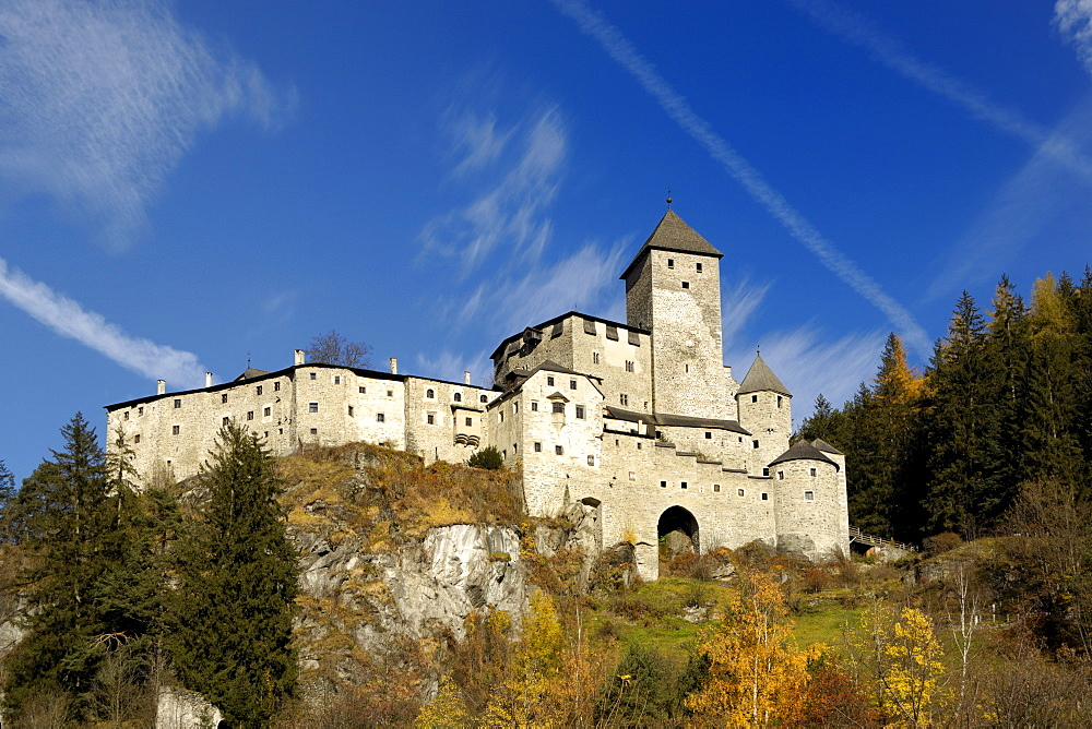 Castle Taufers, Puster Valley, South Tyrol, Italy
