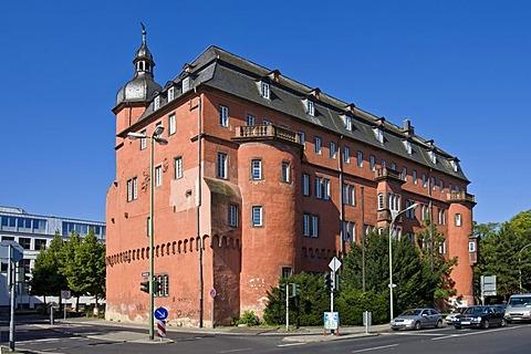 Isenburger castle, Offenbach, Hesse, Germany.