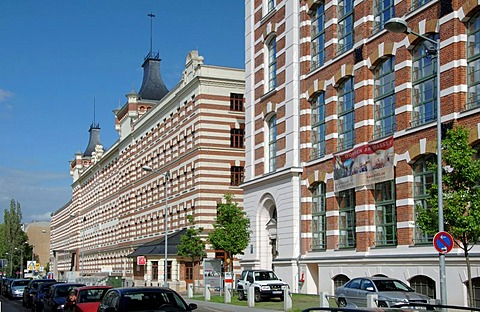 The Elsterpark Leipzig, former colored thread works, is Europe's biggest industry monument from the period of promotion