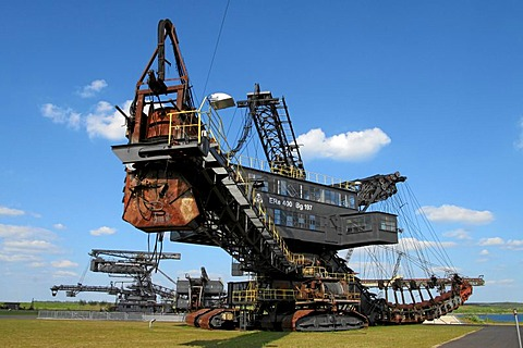 Ferropolis, Industry museum to the brown coal open-cast mining in Germany