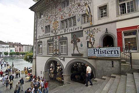 Zunfthaus zu Pfistern, Lucerne, Switzerland