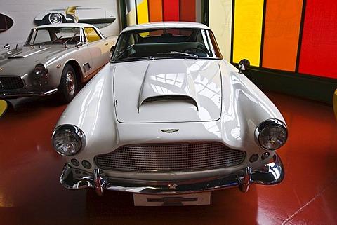 Aston Martin in the Verkehrshaus der Schweiz, Lucerne, Canton Lucerne, Switzerland