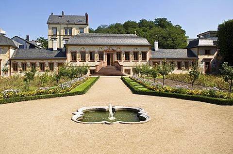 Pretlackísches Gartenhaus, Prinz Georg Garten (Prince George Garden), Darmstadt, Hesse, Germany