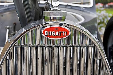 Bugatti 57 Coupe, F 1933 - 39, vintage car meeting, Schwetzingen, Baden-Wuerttemberg, Germany