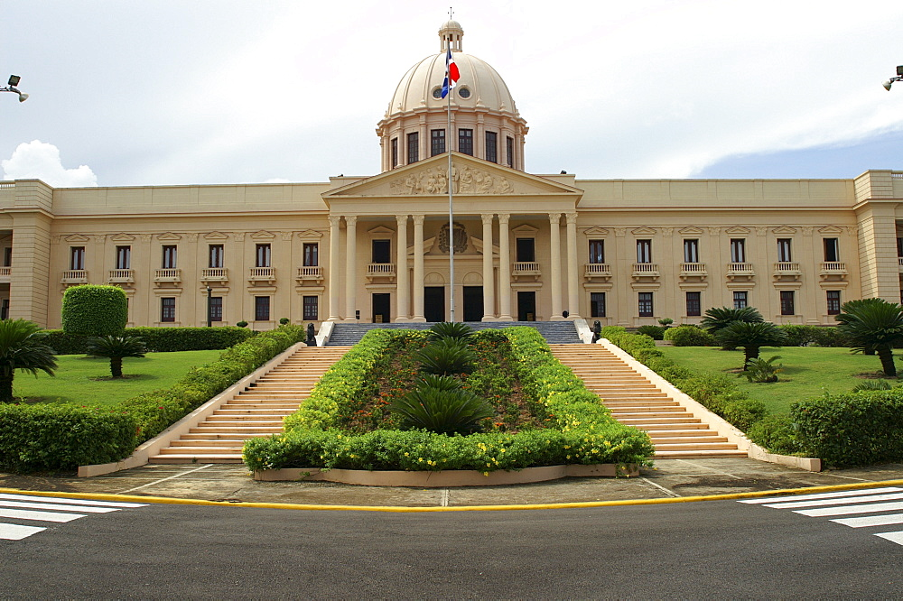 Federal government building in Santo Domingo, Dominican Republic, Caribbean