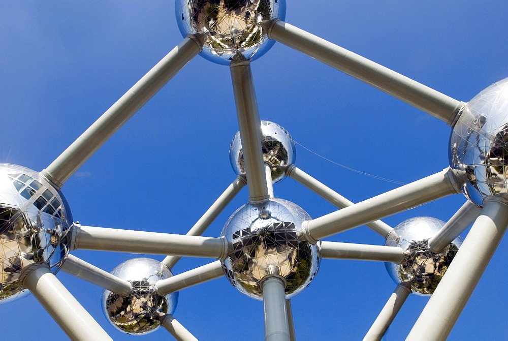 Atomium in Brussels, Belgium, Europe