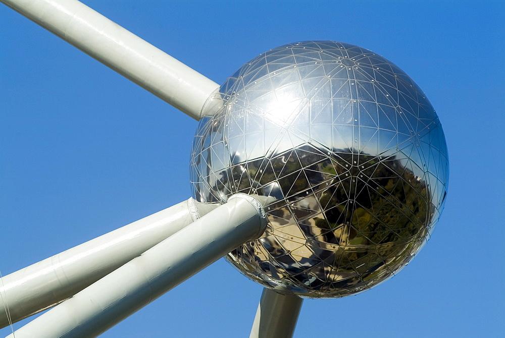Atomium in Brussels, Belgium, Europe