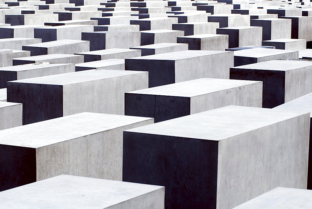 Holocaust Memorial, by the architect Peter Eisenman, Berlin, Germany, Europe