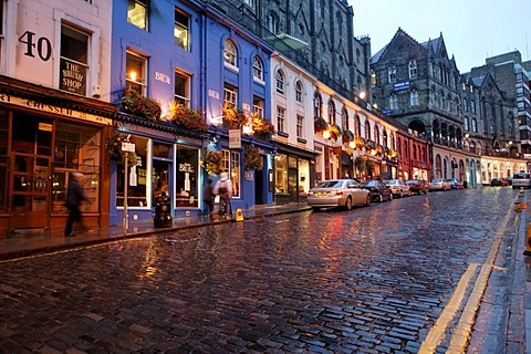 Grassmarket, Edinburgh, Scotland, Great Britan