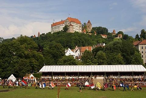 Landshut Landshuter Hochzeit festival sovereign wedding Trausnitz castle Bavaria Germany