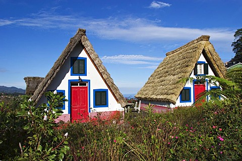Casas de Colmo in Santana - Traditional Madeira styled thatched houses - Madeira