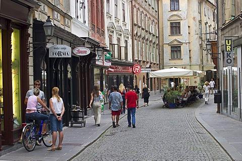 Stari trg in Ljubljana - Slovenia