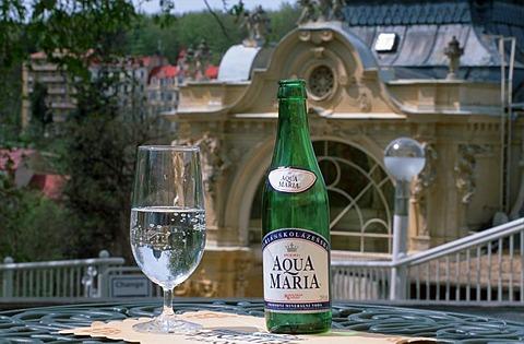 Marianske Lazne Aqua Maria water Bohemia Czech Republic