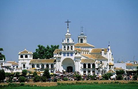 El Rocio Romeria - Costa de la Luz Andalusia Province Huelva Spain