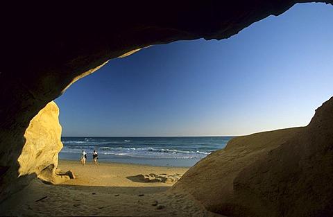 Spain Andalusia Costa de la Luz Cadiz - Conil de la Frontera - Playa de Fontanilla