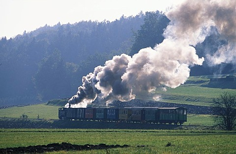 Steam engine train Stainz Styria Austria