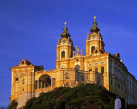Monastery church Melk Wachau Lower Austria