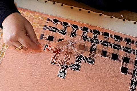 Stitchery , open-air museum in Tefia , Fuerteventura , Kanarische Inseln - 832-335539