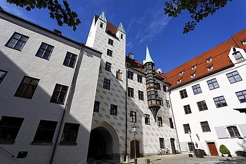 Alter Hof der Residenz , Munich Bavaria Germany