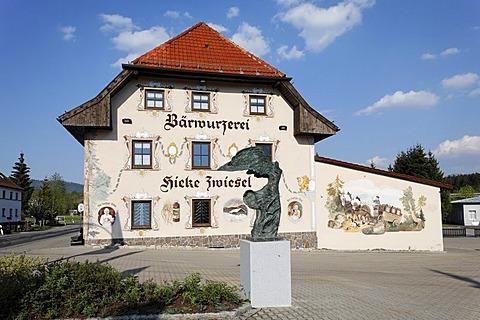 Baerwurzerei Hieke distillery in Zwiesel, Bayerischer Wald, Lower Bavaria, Germany
