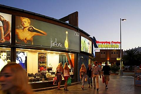 Shopping Center Varadero in Maspalomas (Meloneras), Costa Canario, Gran Canaria, Spain