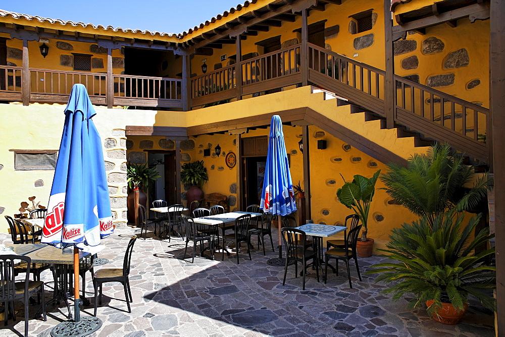Hotel restaurant La Hacienda del Molino, San Bartolome de Tirajana, Tunte, Gran Canaria, Spain