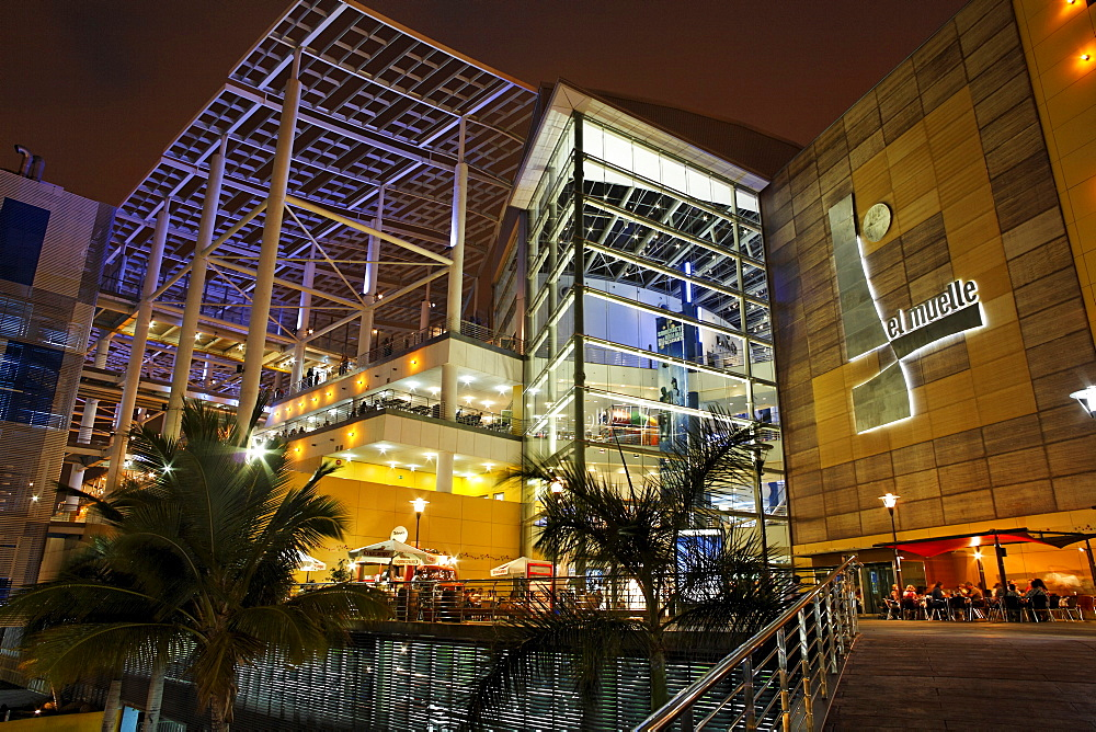 Shopping center El Muelle, Las Palmas de Gran Canaria, Spain