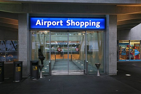 Airport Shopping in Zurich, Switzerland