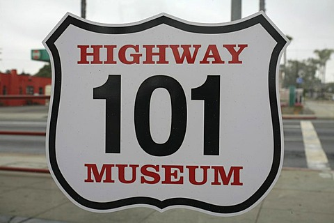 Historic Highway 101 Cafe, California, USA